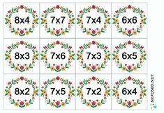мемори таблица умножения