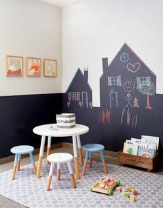 A gyerekszoba fal - egyszerű, de ötletes   TÉRKULTÚRA lakberendező. Lakberendezési blog.