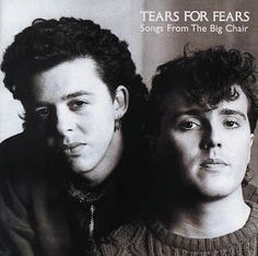 Purchase this original 1985 vinyl pressing of Songs From The Big Chair, the second album from new wave band Tears For Fears. Browse our selection of other rock albums on vinyl at Voluptuous Vinyl Records! Beatles, Cyndi Lauper, 80s Musik, John Cryer, Pet Shop Boys, Dark Wave, Pochette Album, Tears For Fears, Music Album Covers