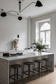 Home Interior Scandinavian .Home Interior Scandinavian Kitchen Interior, Kitchen Decor, Kitchen Design, Kitchen Ideas, Loft Kitchen, Chef Kitchen, Kitchen Modern, Rustic Kitchen, Cute Home Decor