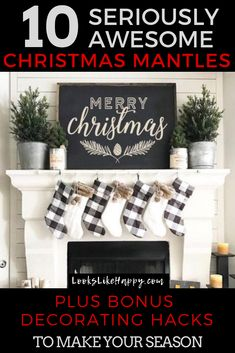 10 Christmas Mantles