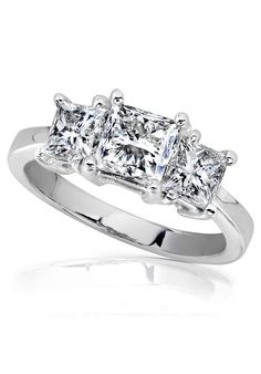 Princess Cut Diamond Engagement Rings for Women