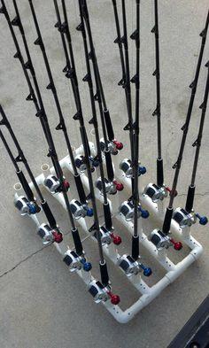 PVC fishing rod holder ideas...