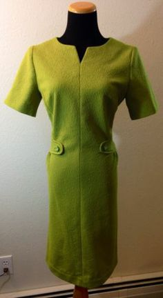 Mod 1960s Rhodes Royale Original Cocktail Dress with Pink Seams Single Stitched   eBay