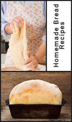 Un montón de recetas de pan