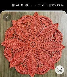 Crochet Placemat Patterns, Crochet Bedspread Pattern, Crochet Table Runner Pattern, Crochet Tablecloth, Thread Crochet, Freeform Crochet, Crochet Motif, Crochet Designs, Crochet Stitch
