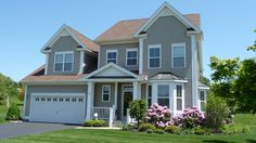 Home for sale in Wallingford CT - Impressive design & features! HW floors on main level, granite counters, maple cabinets, SS appliances, great room w/gas FP & cath ceilings, 1st flr MBR suite, loft room, fin bsmt, deck & private patio w/views of open space. $439,900 Wallingford CT