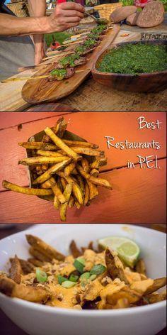 The Best Restaurants in PEI Seafood lover or not, here are some of the best restaurants in Prince Edward Island! East Coast Travel, East Coast Road Trip, Cross Canada Road Trip, Canada Trip, Pei Canada, Nova Scotia, East Coast Canada, Georgia, Atlantic Canada