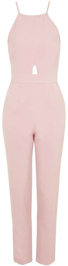 Womens pastel rose jumpsuit from Topshop - £50 at ClothingByColour.com