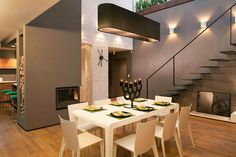 Natural Color Palette Shaping Spacious Sophisticated Loft