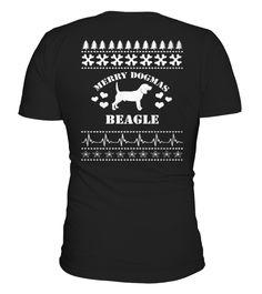 Shirt Merry Dogmas BEAGLE back 1 Pocket Beagle, Cane Corso, Merry, One Piece, Printable, Mens Tops, T Shirt, Simple, Stuff To Buy