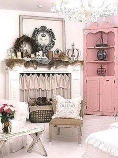 Creamy neutrals and soft pink