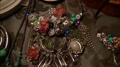 Junket Jewerly ..I created this one with this & that & then some