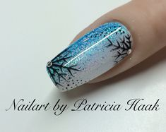 Winter Nail Snowflake