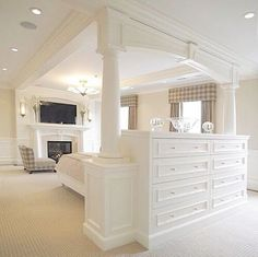 @ zuzanamisik - What do you think about using this DRESSER as a HEADBOARD and a ROOM divider?******#dresser #property #realestate @lindahomeiswheremyheartis #design #house #toronto #the6ix @zuzanamisik #bedroom #arch #lovewhereyoulive #idea #loveit