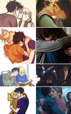 The left side is Percabeth! The right side is, well, ...