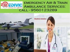 Don't be hopeless if you your patient is in I.C.U or need to shift in Delhi, Chennai, Mumbai, Kolkata, and Bangalore or anywhere in India, now it is easily possible with transfer highly severe patients via Medivic Air and Train Ambulances that provide intensive care facilities through journey.  Visit website and contact us for medical emergency - goo.gl/L6mtKo