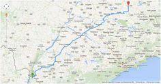 Como ir da cidade de Tubarão (Santa Catarina) para Nova Londrina (Paraná) de carro. Veja o trajeto completo e quais as principais rodovias do percurso.