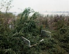 "Alec Soth from the series ""Sleeping by the Mississipi"""