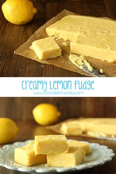 This Lemon Meringue Pie Fudge is like lemon meringue pie in fudge form! It's fudge with a crust! Easy, fast, no cook - this is the perfect lemon fudge recipe. Lemon Fudge Recipe, Fudge Recipes, Candy Recipes, Dessert Recipes, Lemon Desserts, Lemon Recipes, Easy Desserts, Delicious Desserts, Yummy Food