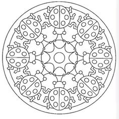 Copy Paste into a Word Document. PAGE SET-UP as Zero margins. Center and stretch picture to fit paper. Mandala Coloring Pages, Coloring Book Pages, Printable Coloring Pages, Coloring Sheets, Zentangle Patterns, Embroidery Patterns, Paper Embroidery, Doily Patterns, Embroidery Dress