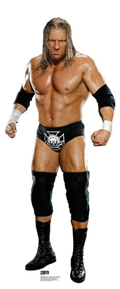 WWE Triple H Cardboard Stand-Up