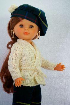 Nancy Mañana de invierno. Chaqueta de punto beige