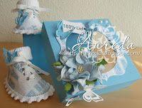 Baby shoe Paper 100% sweet