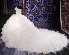 This will be Avrilyn's wedding dress.