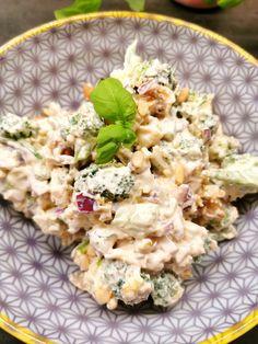 Brokkolisalat Cloud Bread, Pcos, Potato Salad, Food And Drink, Low Carb, Keto, Dinner, Healthy, Ethnic Recipes