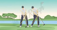 Golf Swing Basics: The Fundamentals You Need to Know - The Left Rough Club Face, Big Muscles, Golf Lessons, He Is Able, Stand Tall, Mirror Image, Golf Tips, Golf Ball, Golf Clubs