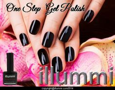 Salon Perfect nails at home. illummi One Step Gel Polish. Simple and easy to use, No Base, No Top, No Sticky Layer, No Hassle.