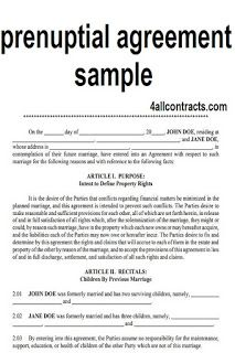 All Contracts In 1 Place Prenuptial Agreement Prenuptial