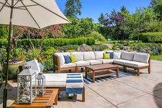 Perfect summer outdoor decor. Medina, WA Coldwell Banker BAIN
