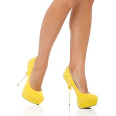 I love these bright shoes!
