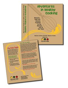 The Kids' Table - Cookbook binder, cover/back cover