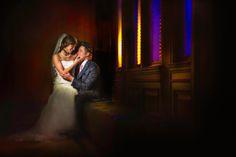 Dramatic Wedding PhotographyGrand Rapids Wedding Photographer