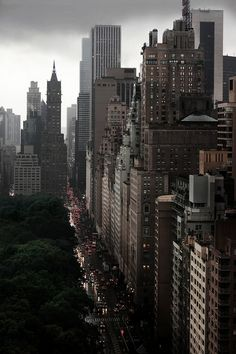Urban Landscape Photography | Central Park West | NYC