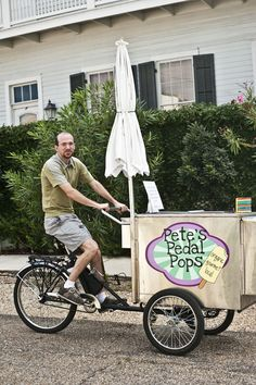 Pete's Pedal Pops & Popstars - A middle of the afternoon must-do!