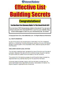 Free ebook.  Profitable email list building campaign  https://yadi.sk/d/oPXUFIXpeoqDN #makemoneyonline