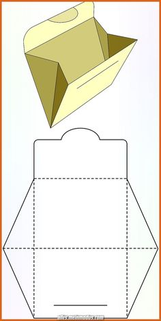Purple pyramid box for XV years of memory - diy_crafts - Bastelideen Kinderhttp . - Purple pyramid box for XV years of memory – diy_crafts – craft ideas for kidshttps: //hair. Diy Gift Box, Diy Box, Diy Gifts, Diy Paper Box, Paper Crafts Origami, Oragami, Paper Folding, Junk Journal, Diy And Crafts