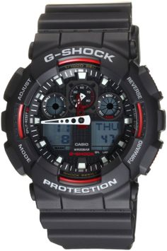 Sports Watches for Men Casio GA100-1A4 G-Shock X-Large Analog-Digital Black Dial http://timepiececollections.blogspot.com/2014/04/casual-best-casio-watch-reviews-g-shock.html
