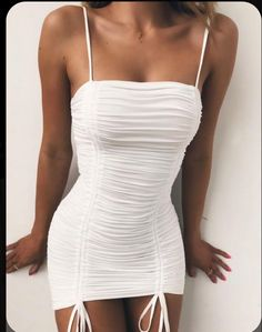 Nice 100 Ideas of Short Summer Dresses To Look Hot Cute Casual Outfits, Sexy Outfits, Pretty Outfits, Pretty Dresses, Stylish Outfits, Dress Outfits, Fashion Outfits, Clubbing Outfits, Dress Shoes