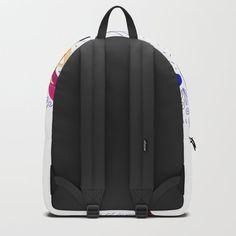 yoga x Backpack Dark Blue Tie, Blue Ties, Marble Backpack, Tie Dye Backpacks, Black And White Backpacks, Painting Backpack, Whale Song, Black And White Marble, White Wood