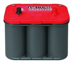 Optima Batteries 8003-151 34R RedTop Starting Battery 12-Volt, 800 Cold Cranking Amps, Size: 10 x 6 7/8 x 7 13/16 tall, Weight: 37.9 pounds, SAE Post. Reserve capacity of 100 minutes for constant performance. Optimal starting power even in bad weather. Fifteen times more resistant to vibration for durability. This item is not for sale in Catalina Island.  #Optima #Automotive_Parts_and_Accessories