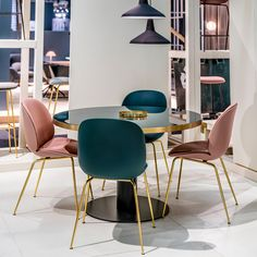 Kitchen Island Chairs - Gubi Velvet Beetle Front Upholstered Chair by GamFratesi. Kitchen Island Chairs - Gubi Velvet Beetle Front Upholstered Chair by GamFratesi - Chaplins Island Chairs, Esstisch Design, Compact Table And Chairs, Dining Table Design, Painted Chairs, Deco Design, Upholstered Dining Chairs, Living Room Chairs, Modern Chairs