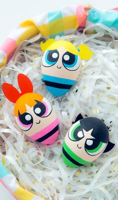 Powerpuff Girl Easter Eggs! Can't wait for the new show on April 4th...