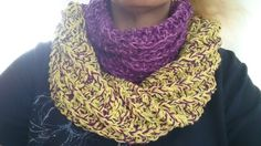 Noch ein Gemischt-Farben-Loop aus Baumwolle - schön weich.