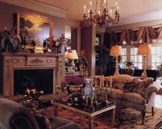 Regency-inspired modern interior