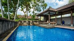 Private pool at The Hadiprana Villa at The Chedi Club Tanah Gajah, Ubud, Bali